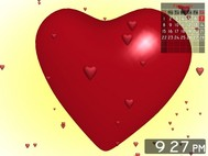 Love Heart 3D Screensaver screenshot